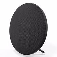 Jual Vivan VSB810 Bluetooth V4.1 Fashionable Linen Mesh Round Speaker Black Murah