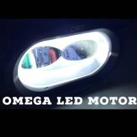 Jual Lampu LED Tembak Sorot OWL FLAT Cree 2 Mata CR7 Murah