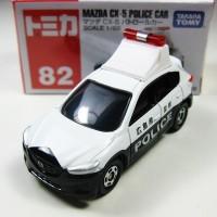 Mazda CX-5 Police Car no 82 Tomica Reguler Takara tomy
