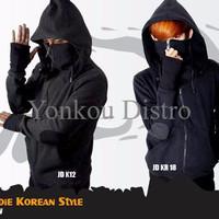 Jaket Anime Game Casual Ninja Korean Style Jacket Hoodie (JD KR 18)