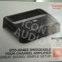 POWER AMPLIFIER 4 CHANNEL JBL GTO 804EZ TERMURAH!!!