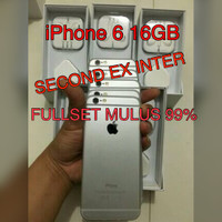 iPhone 6 16gb Second Space Gray Second Ex Inter Mulus Like New