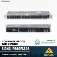 BEHRINGER Composer Pro XL MDX2600 / MDX 2600 Sound System Processor