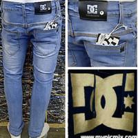 Jual Celana Jeans DC Biru Muda Murah