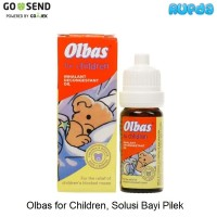 Olbas for Children, solusi untuk bayi pilek/hidung tersumbat