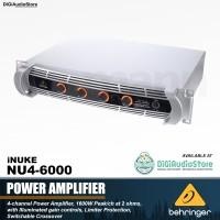 Behringer iNUKE NU4 6000 watt 4 channel power amplifier speaker Pasif