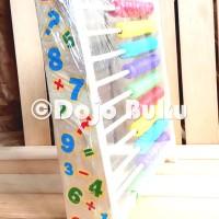 Mainan Edukatif Sempoa Anak ( Belajar Warna dan Hitung )