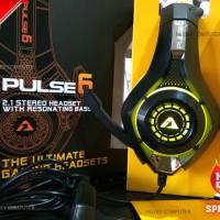 [ARMAGGEDDON] PULSE 6 Headset Gaming 2.1 Stereo [Yellow Edition]