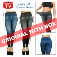 Slim n Lift Caresse Jeans / Celana Pelangsing - sumbawa shop