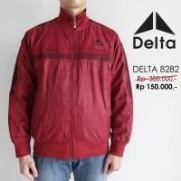 Jual Jaket Delta Waterproof Bolak Balik Original/Asli 8282 Marun Murah