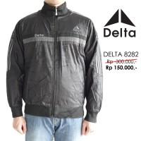 Jual Jaket Delta Waterproof Bolak Balik Original/Asli 8282 Hitam Murah