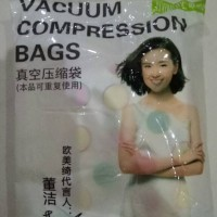 Vacuum Storage Bag / Vakum Bag ( Free Pompa ) isi 6