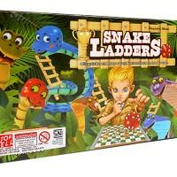 Snakes and Ladders Board Game 3830 ( Permainan Ular Tangga )