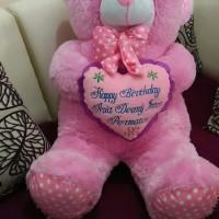 Jual Boneka JUMBO ukir nama teddy bear Murah