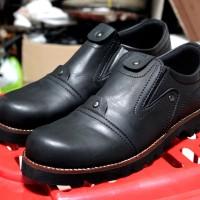 Jual Sepatu Slop Safety Adabos Plankton / Sepatu Low Boots Ujung Besi Murah