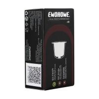 Emohome Nespresso Refillable Pod Capsules for Nespresso Machine-isi 10