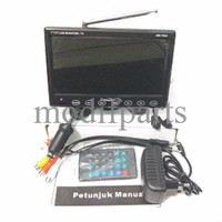 """TV MOBIL 7"""" INCH ON DASH MONITOR HW 798A...Real TFT"""