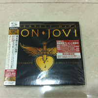 Bon Jovi - Greatest Hits The Ultimate Collection Japan 2CD Set