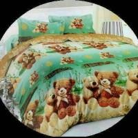 Bedcover set katun jepang 90x200 bear