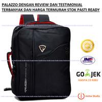 Palazzo Tas Ransel 3in1 Backpack (Ransel, Softcase,dan Slempang) 34685