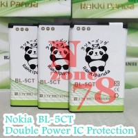 Baterai Nokia BL5CT, BL-5CT, BL 5CT Rakkipanda Double Power Protection
