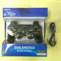 STICK PS3 WIRELESS O.P HITAM + KABEL USB
