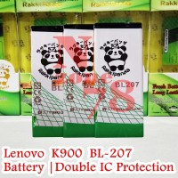 Baterai Lenovo Bl207 Bl-207 K900 Rakkipanda Double Power