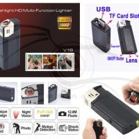 Spy Lighter V18 Hidden Camera Camcorder Flashlight HD + Lighter