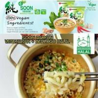 Nongshim Soon Ramyun / Ramyeon Halal / berlogo Halal. made in Korea