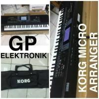 keyboard korg micro arranger + tas
