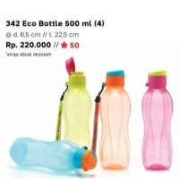 Eco Bottle 500 ml Tutup Flip Tupperware