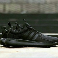 ADIDAS LITE RACER FULL BLACK ORIGINAL MADE IN ONDONESIA BNWB