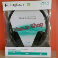 LOGITECH HEADSET H340 STEREO USB / HEAD SET H 340 ORIGINAL