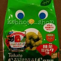 TOHATO Caramel Corn Matcha 70gr(jagung caramel teh hijau dan susu)