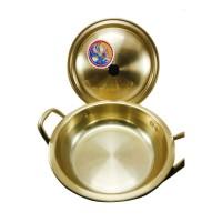 Jual Keum Kang Ramyun Samyang Panci Nabe Pot 22 cm - Gold Murah