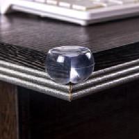 Jual Pengaman Sudut Meja Silikon Oval Transparan Pelindung Siku YC62 Murah