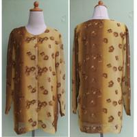 Atasan Melayu Coklat Baju Second Branded Import
