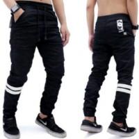 Jual Celana Jogger Pants Strip | Celana Panjang | Celana Olahraga | Celana Murah