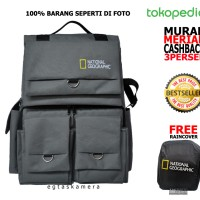 harga Tas Kamera Dslr Backpack National Geographic, Muat Tripod&laptop,murah Tokopedia.com