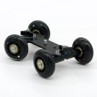 Skater Dolly Stabilizer Table Top Slider for DSLR Camera