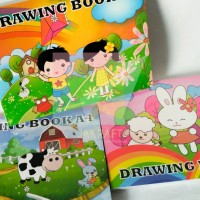 Buku Gambar Anak A4 Isi 10 Putih Polos Kuramas Murah Berkualitas