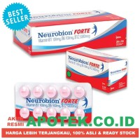 Neurobion Forte Pink - Suplemen Vitamin Neurotropik B1 B6 B12