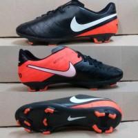 Jual Sepatu Bola Soccer Nike Tiempo Legend Warna Kombinasi Hitam Ora