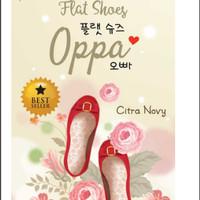 Novel Flat Shoes Oppa - Best Seller