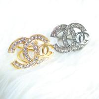 Cincin / Ring Kerudung / Jilbab / Syal Gold Channel