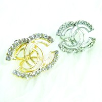 Cincin / Ring Kerudung / Jilbab / Syal Gold Channel 2