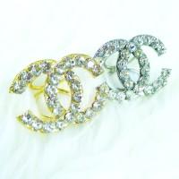 Cincin / Ring Kerudung / Jilbab / Syal Gold Channel 5