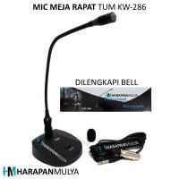 harga Mic Rapat Meja / Microphone Meeting Table Tum Kw-286 Tokopedia.com