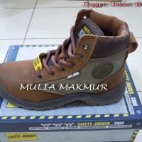 Sepatu Safety Jogger Dakar S3 Brown (Coklat)
