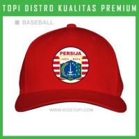 Topi Persija 5 Trucker Baseball Snapback PSJ05 Distro